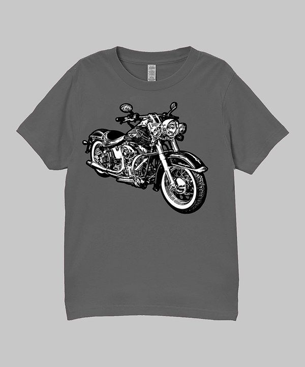 Look at this Charcoal Micro Moto Tee - Infant, Toddler