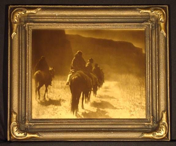 The Rainbow Man : Edward S. Curtis - Photographs - Goldtones/Orotones - Photogravures - Native American - American Indian