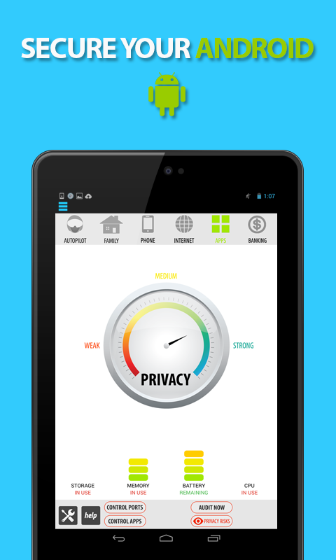 Scan your Android device for free! Protect against viruses