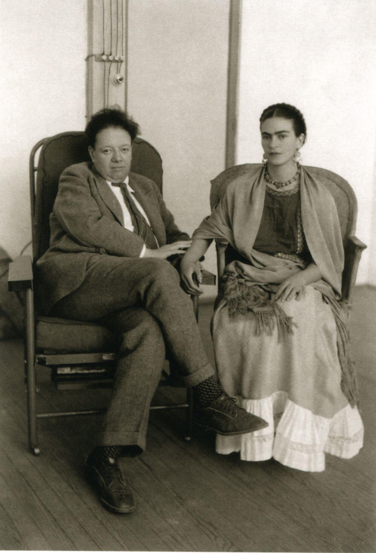 Frida Kahlo & Diego Rivera. Love Rivera