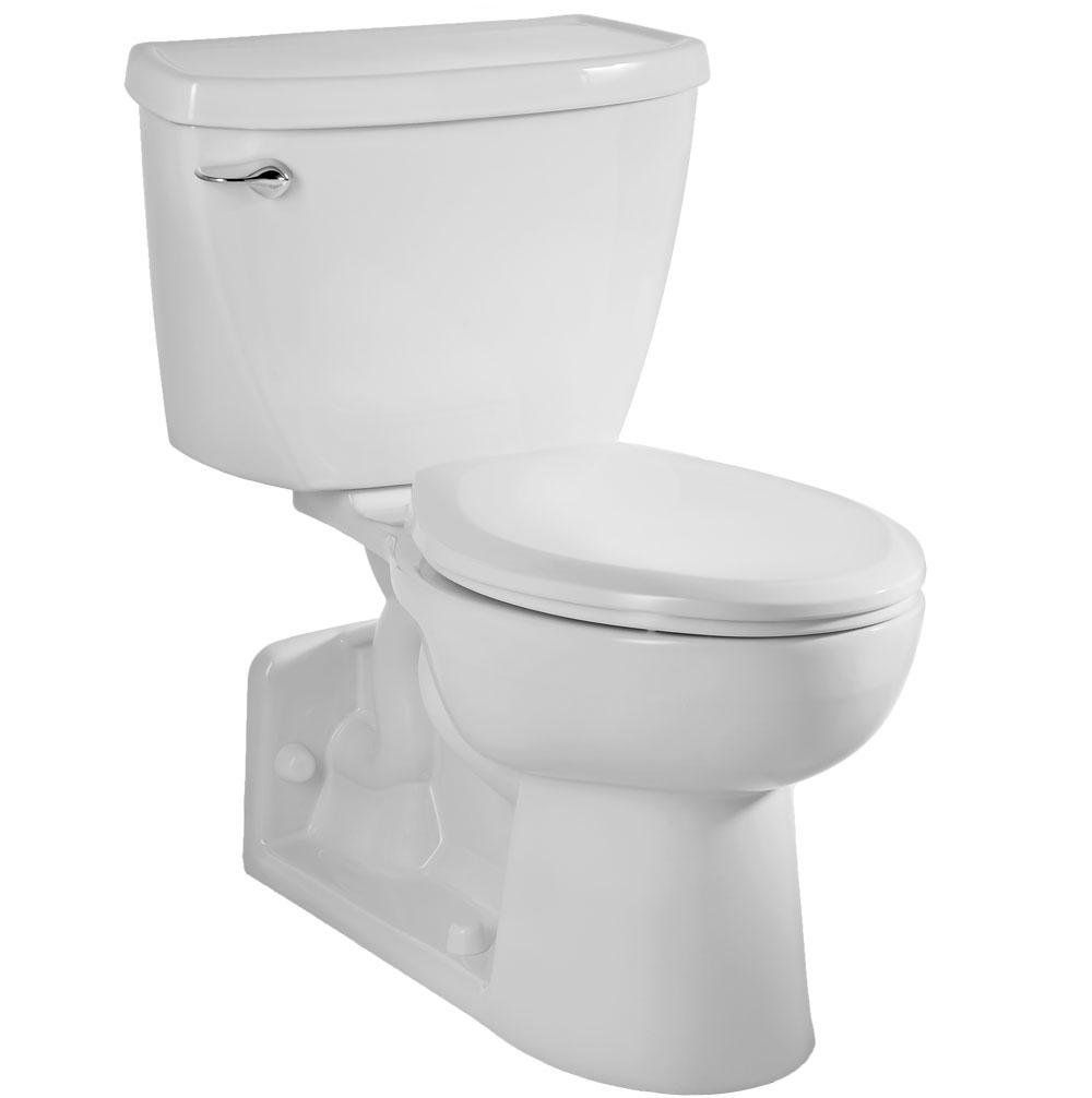 American Standard 2876 016 020 Yorkville Pressure Assisted Elongated Toilet White Two Piece Toilets Amazon Com Yorkville Water Sense Two Piece Toilets American standard rear outlet toilet