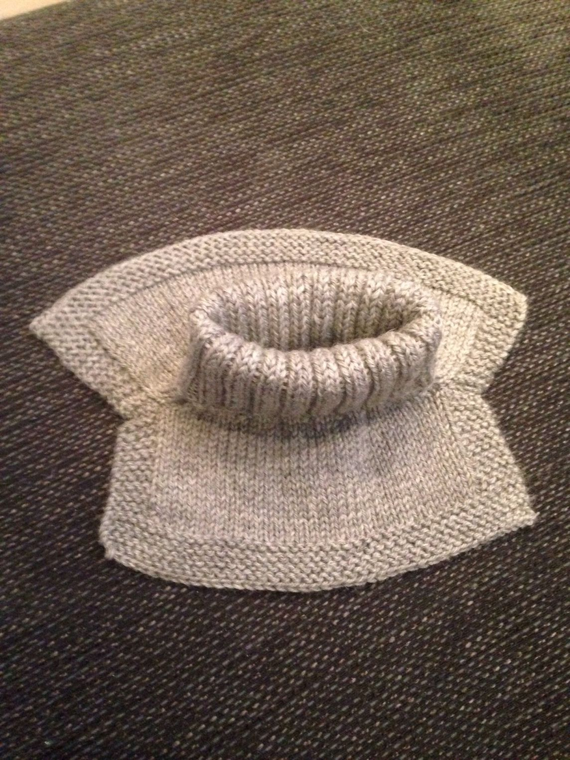 Hals til barn (med oppskrift) | Baby knitting patterns