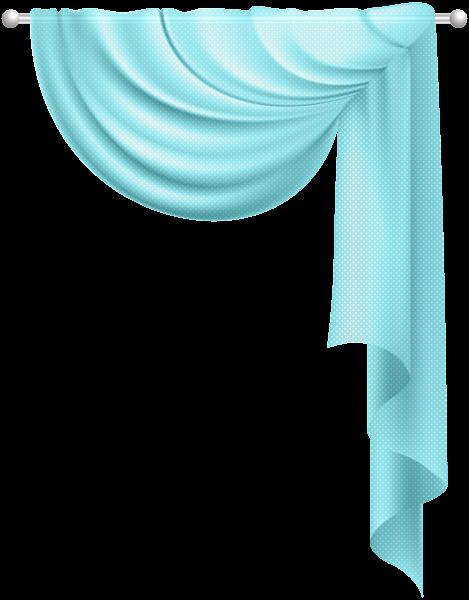 Transparent Curtain Blue Clip Art PNG Image   Places to ...