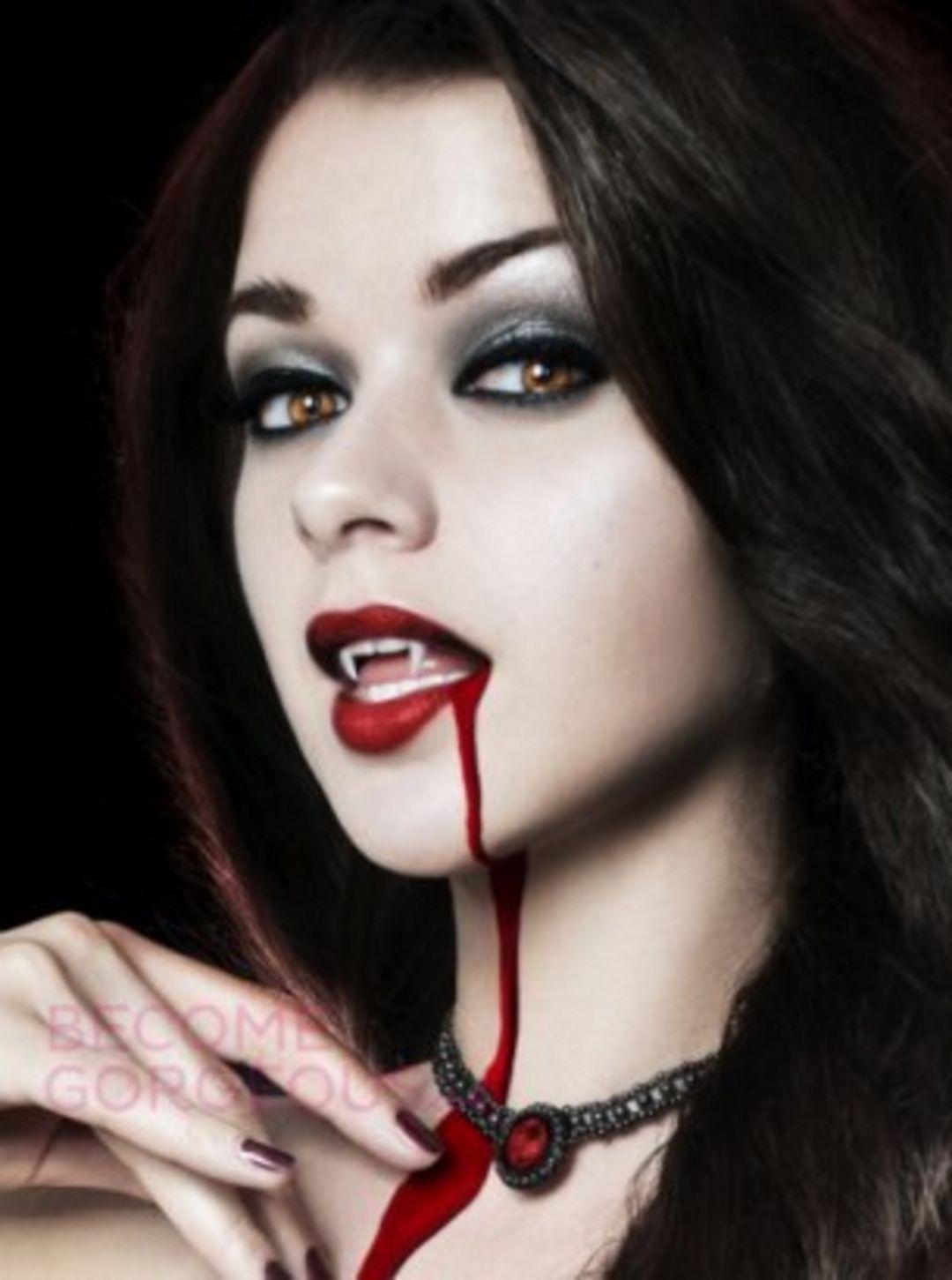 See through nose piercing   Best Vampire Makeup Idea For Halloween party  Vampire makeup