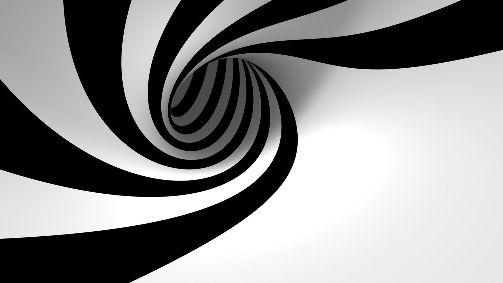Black And White Swirl Abstract Wallpaper Black And White