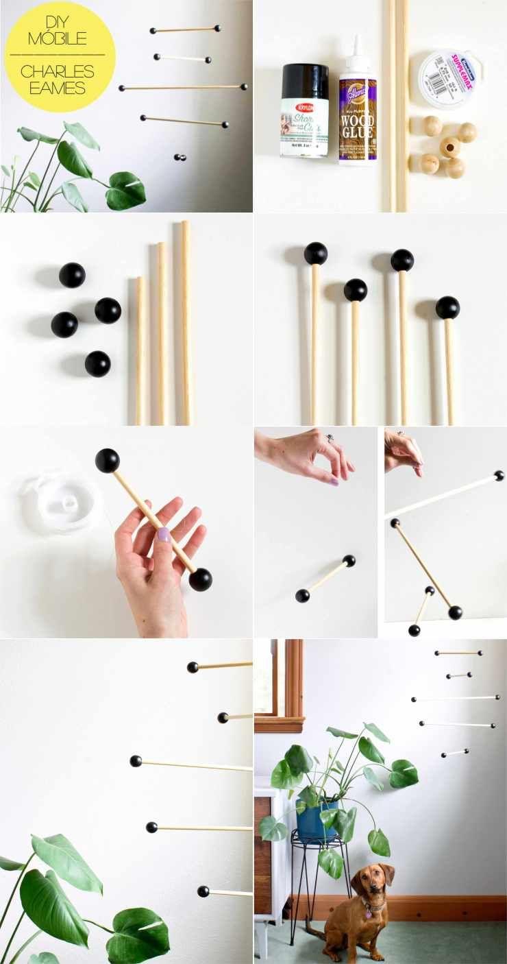 DIY - Como Fazer um Móbile Inspirado em Eames and Ray Charles - FONTE: Vitamini Handmade - Eames - Charles and Ray Eames - DIY Project - Faça Você Mesmo - Projetos Faça Você Mesmo - #BlogDecostore