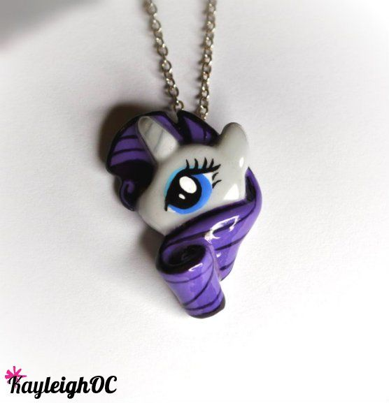 My little pony rarity necklace by kayleighoc on deviantart my my little pony rarity necklace aloadofball Gallery