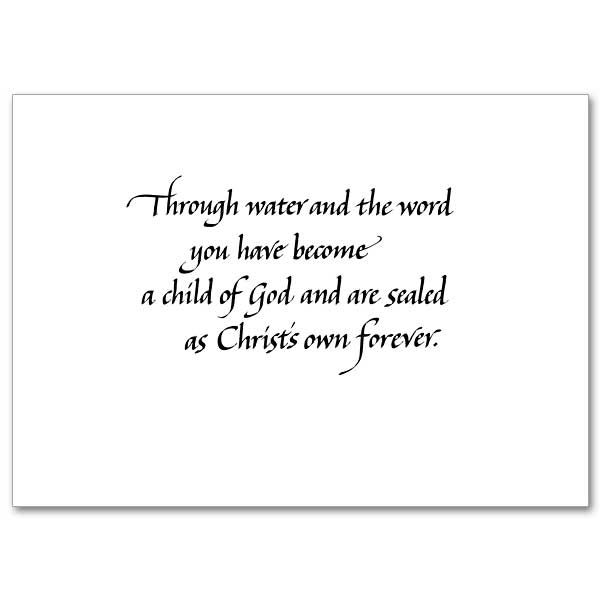 On Your Christening Christening Card Baptism Quotes Baptism