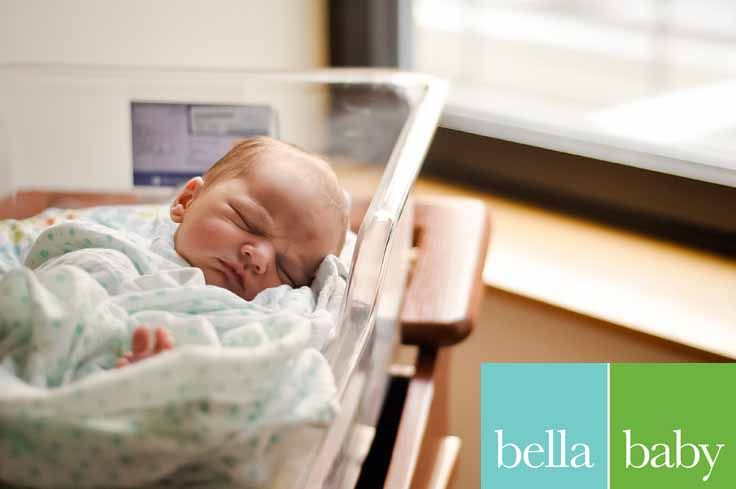 Bella baby photography photographer callie andrews newborn hospital lifestyle
