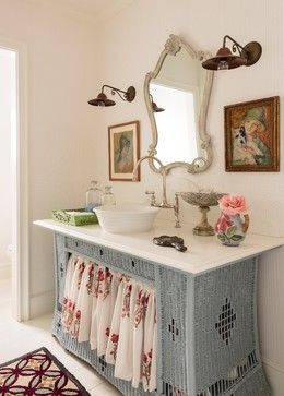 Charming Home Tour ~ English Style Cottage   Town U0026 Country Living.  Bathroom TrendsBathroom IdeasCottage ...