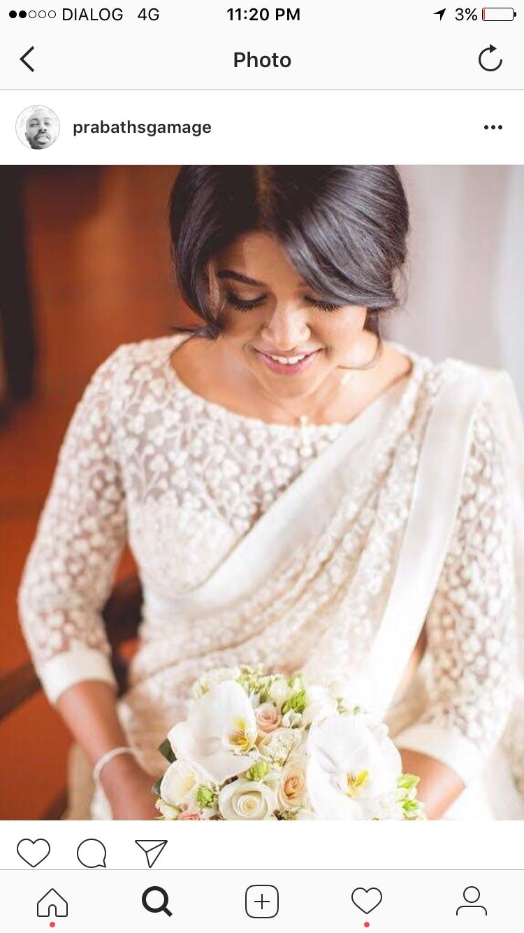 White Saree Christian Bridal Saree White Saree Wedding Christian Wedding Sarees