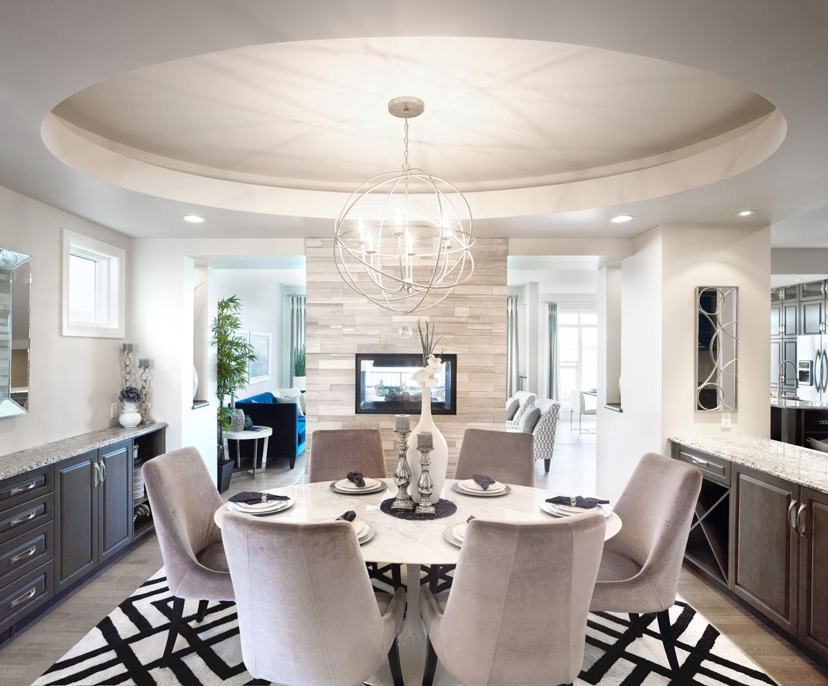 The Birchwood Dining Room in Legacy – Trico Homes – Check out the ...
