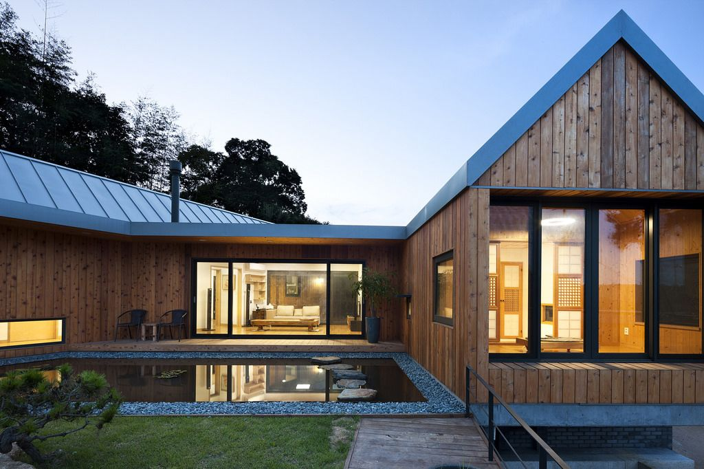 maison en bois contemporaine - Maison Moderne Bois