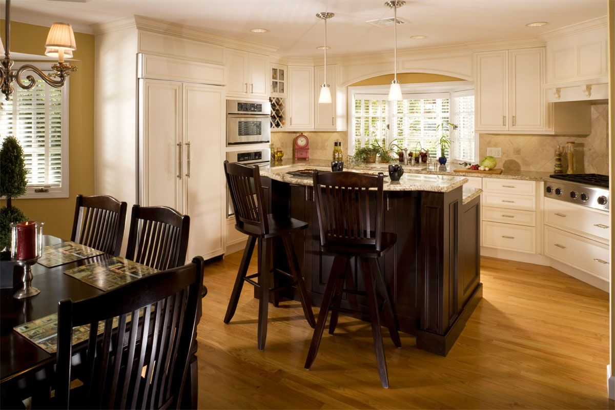 Best Houzz Kitchens White Cabinets Kitchen With Light 640 x 480