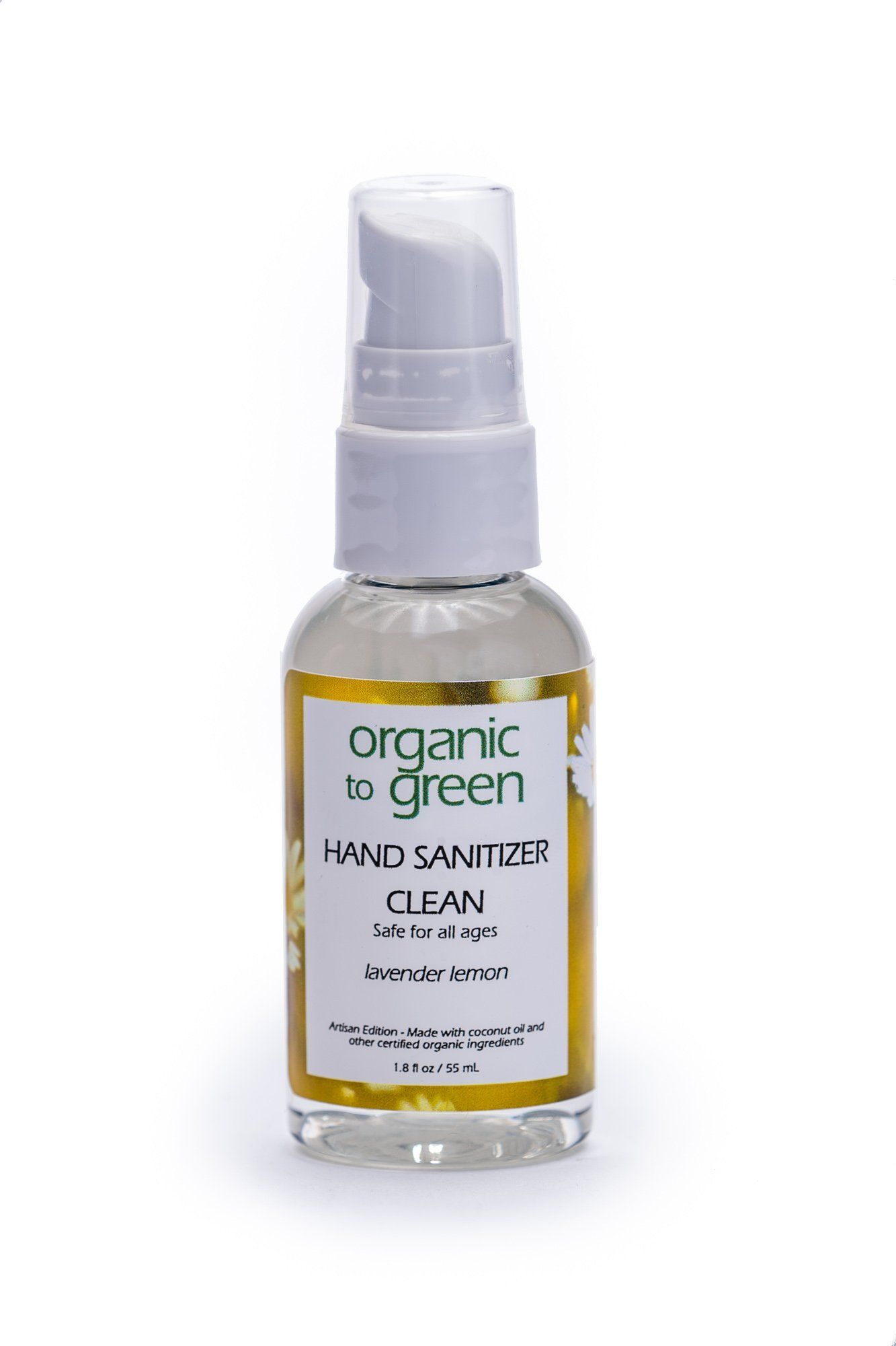 Clean Organic Hand Sanitizer Spray Lavender Lemon Products