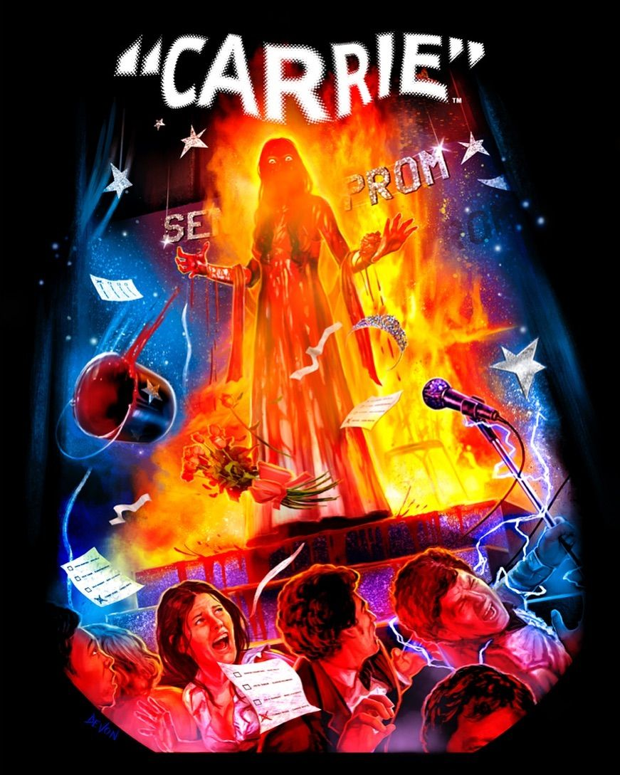 They Are All Going To Laugh At You : going, laugh, Thursday,, THEY'RE, GONNA, LAUGH, 🔥👸, CARRIE, Officially, Licensed, Collection, First, Release, 2019!, We're…
