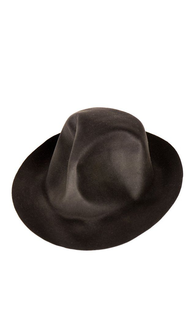 121c9dcf81a Horisaki Easy Burnt Beaver Fur Felt Round Top Hat In Grey