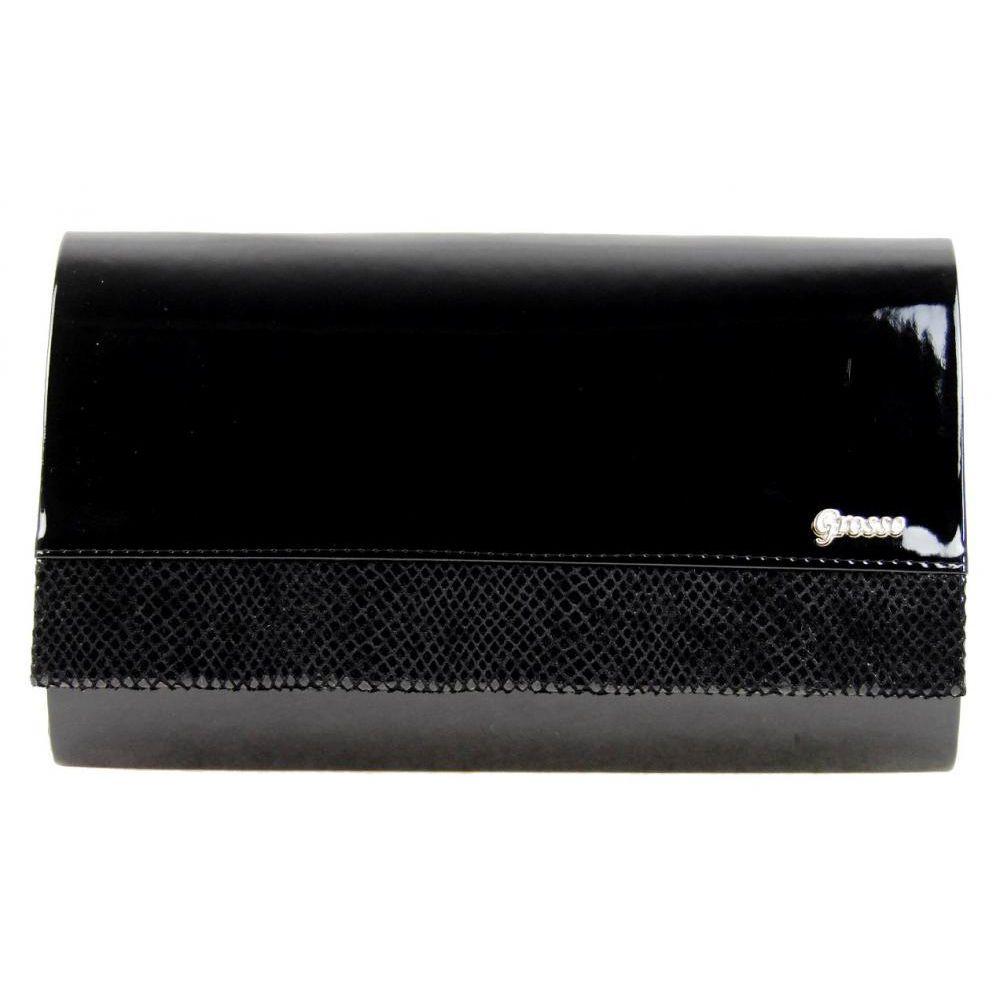 ae5cce7c70 Luxusní dámské listové psaní Grosso SP100 černý lak