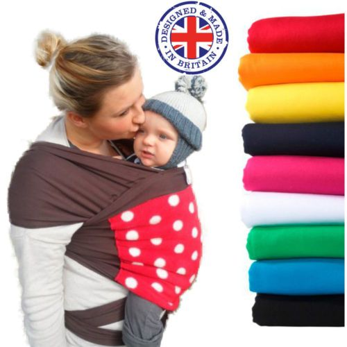 Baby Sling Stretchy Wrap With Polar Fleece Ideal Breastfeeding