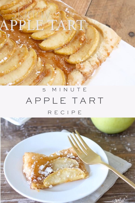 5 Minute Skinny Apple Tart Recipe