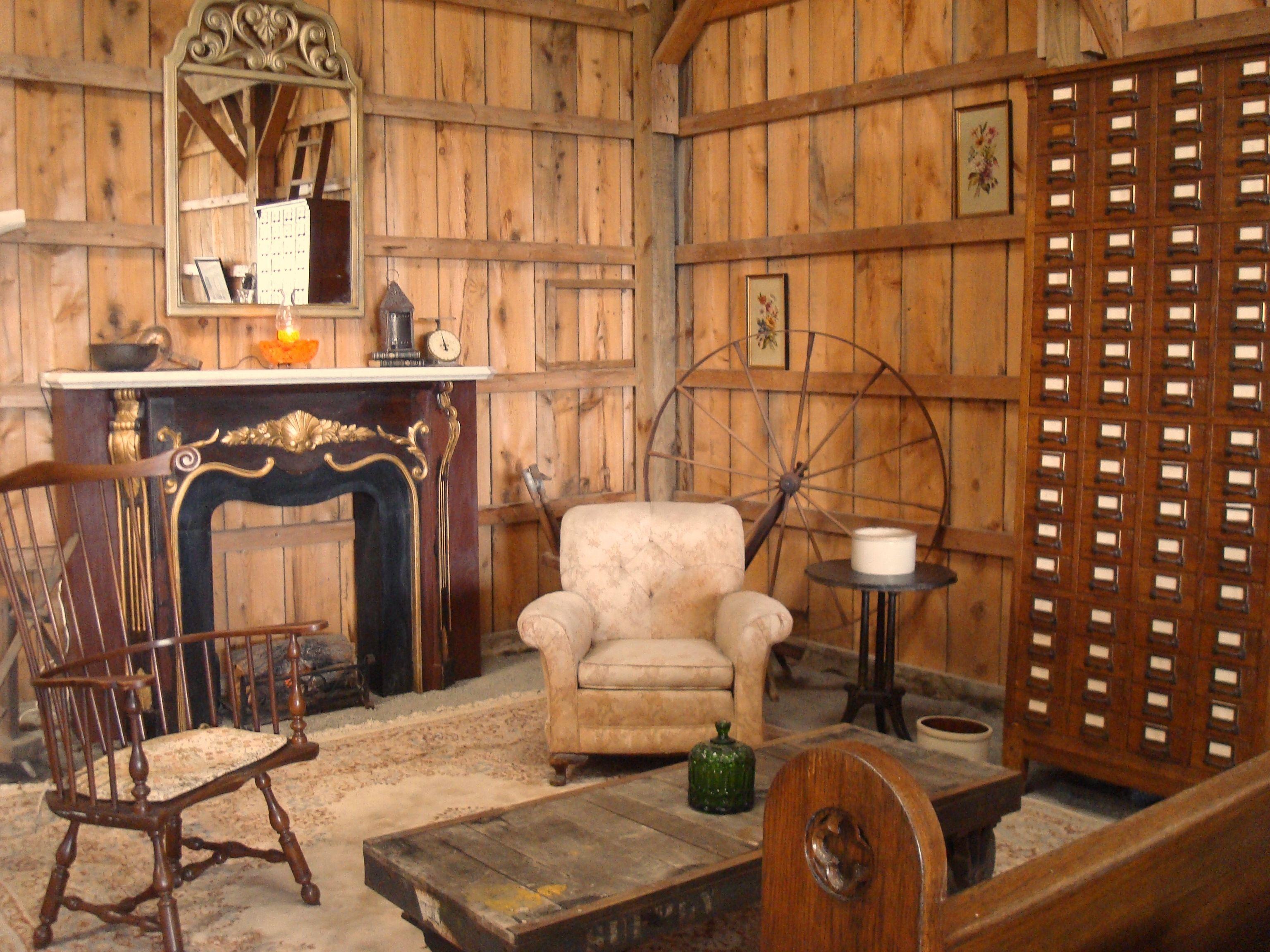 Rustic Cabin Interior Wall Ideas