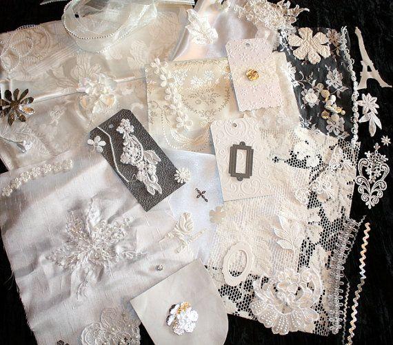 Vintage Victorian Style Kit 15 make a White Heirloom by memor1es