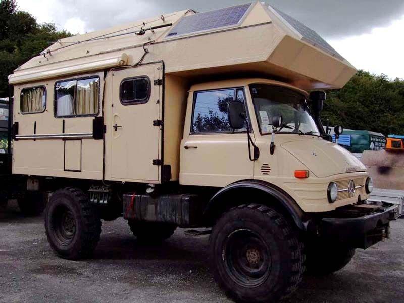 A 1973 U1100 (416) camper belonging to a customer from ...