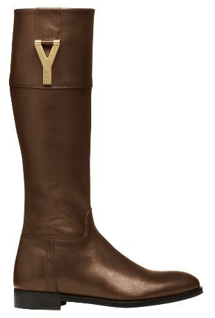 5904adeb150 The look: equestrian luxe. These YSL riding boots should do the trick. #ysl