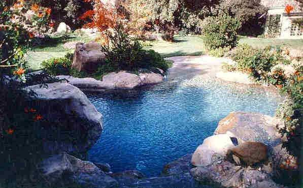 natural looking in ground pools. If I Ever Built A Pool --- It Would Be Rock Natural Looking In Ground Pools Pinterest