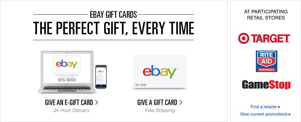 Gift Cards Give Gift Cards Digital Gift Cards Wide Selection Ebay Gift Digital Gift Card Gift Card