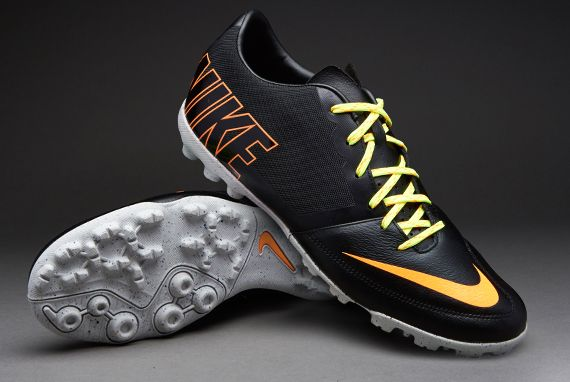 competitive price 347be 78159 Nike-Soccer-Shoes-Nike-Bomba-Pro-II -Astro-Turf-Soccer-Cleats-BlackAtomic-OrangeVolt