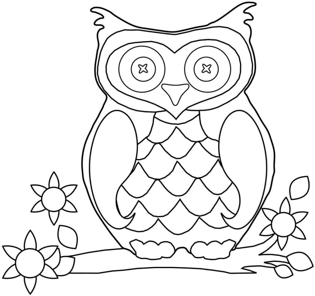 Owl Coloring Page Animal Coloring Pages Owl Coloring Pages Bird Coloring Pages