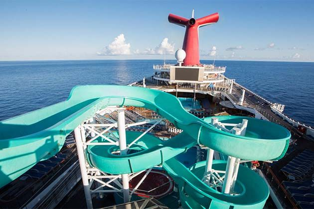 carnival triumph - the twister water slide   cruise   pinterest