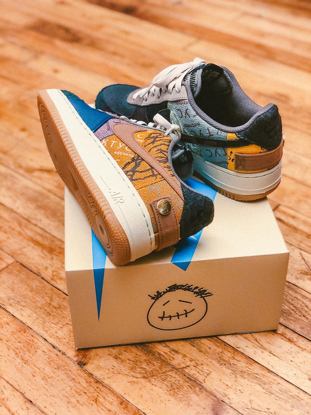 Travis Scott Air Force 1 Shoes Release Date