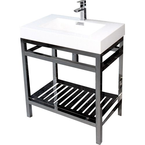 Found It At Wayfair Supply Cisco 30 Modern Stainless Steel Vanity Base