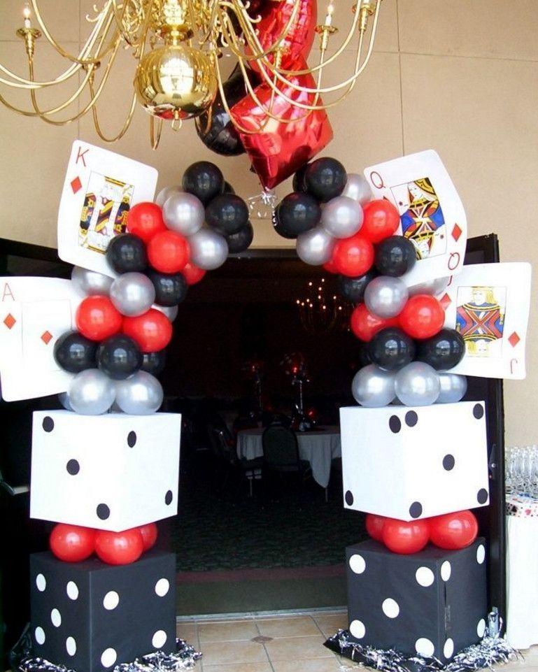 Vegas Themed Birthday Party Ideas