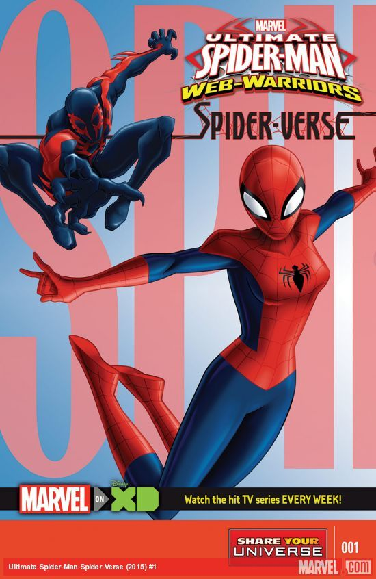 """MARVEL ULTIMATE WEB WARRIORS SPIDERVERSEPresentado en un formato de historia multi-episodio, """"de Marvel Ultimate Spider-Man: Warriors Web"""" no sólo los pares de Spidey con los Vengadores, pero introduce nuevos héroes y villanos del Universo Marvel como Agente Venom, un nuevo Araña del hierro Amadeus Cho, Capa y de la daga, y Ka-Zar. Además, por primera vez en la historia de la animación, Miles Morales se une a Spider-Man para una nueva aventura y él no es el único Spidey que Peter Parker"""