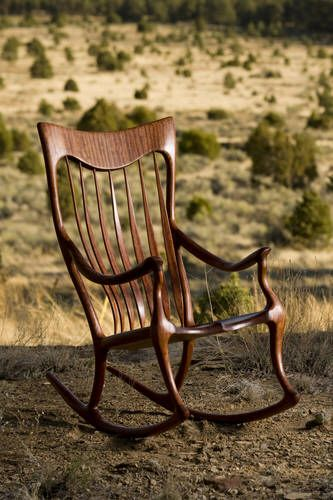 Surprising Custom Made Rocking Chairs Handcrafted By Scott And Evergreenethics Interior Chair Design Evergreenethicsorg