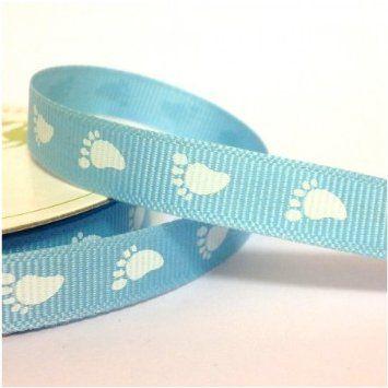 Its a Boy Baby  Print Grosgrain 10mm Ribbon