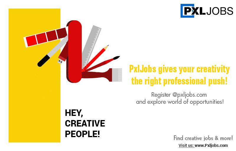 Pin by Pxljobs Indian Creative Job Portal on PxlJobs