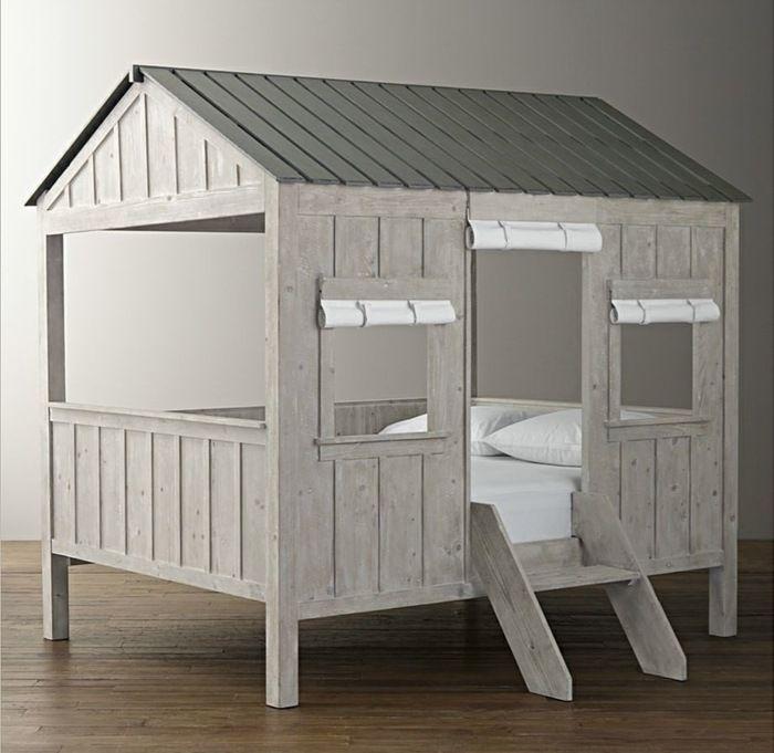 das bett design f r kinder eignet sich zum schlafen und spielen wohnideen kinderzimmer. Black Bedroom Furniture Sets. Home Design Ideas