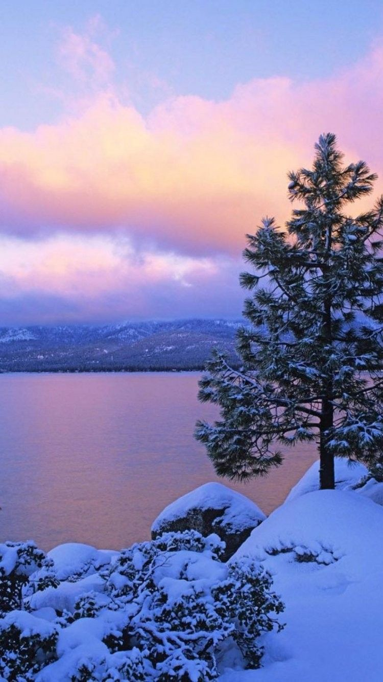Lake Tahoe Background iPhone 6 Wallpaper 37291 Nature