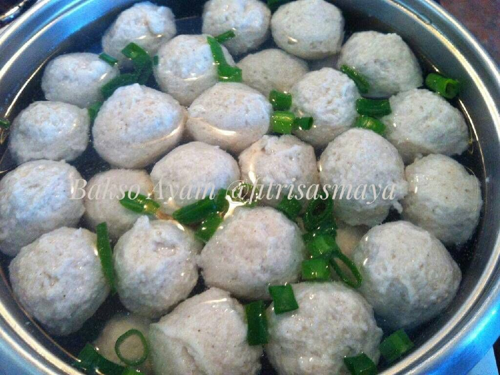 Resep Bakso Ayam Tips Membuatnya Oleh Fitri Sasmaya Resep Resep Masakan Resep Masakan