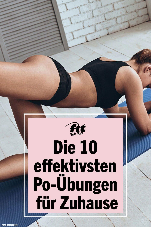 ▷ Die 10 effektivsten Po-Übungen für Zuhause #strengtheningexercises