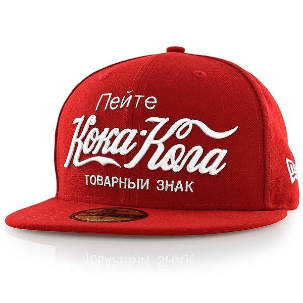 new era CC INTERNATIONAL RUSSIAN COKE rot/weiß