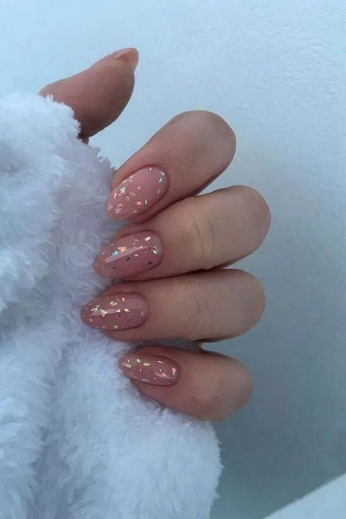 25 Stunning Nail Calm Color for Winter Fashion 4 –   – #Calm #color #fashion #Na…