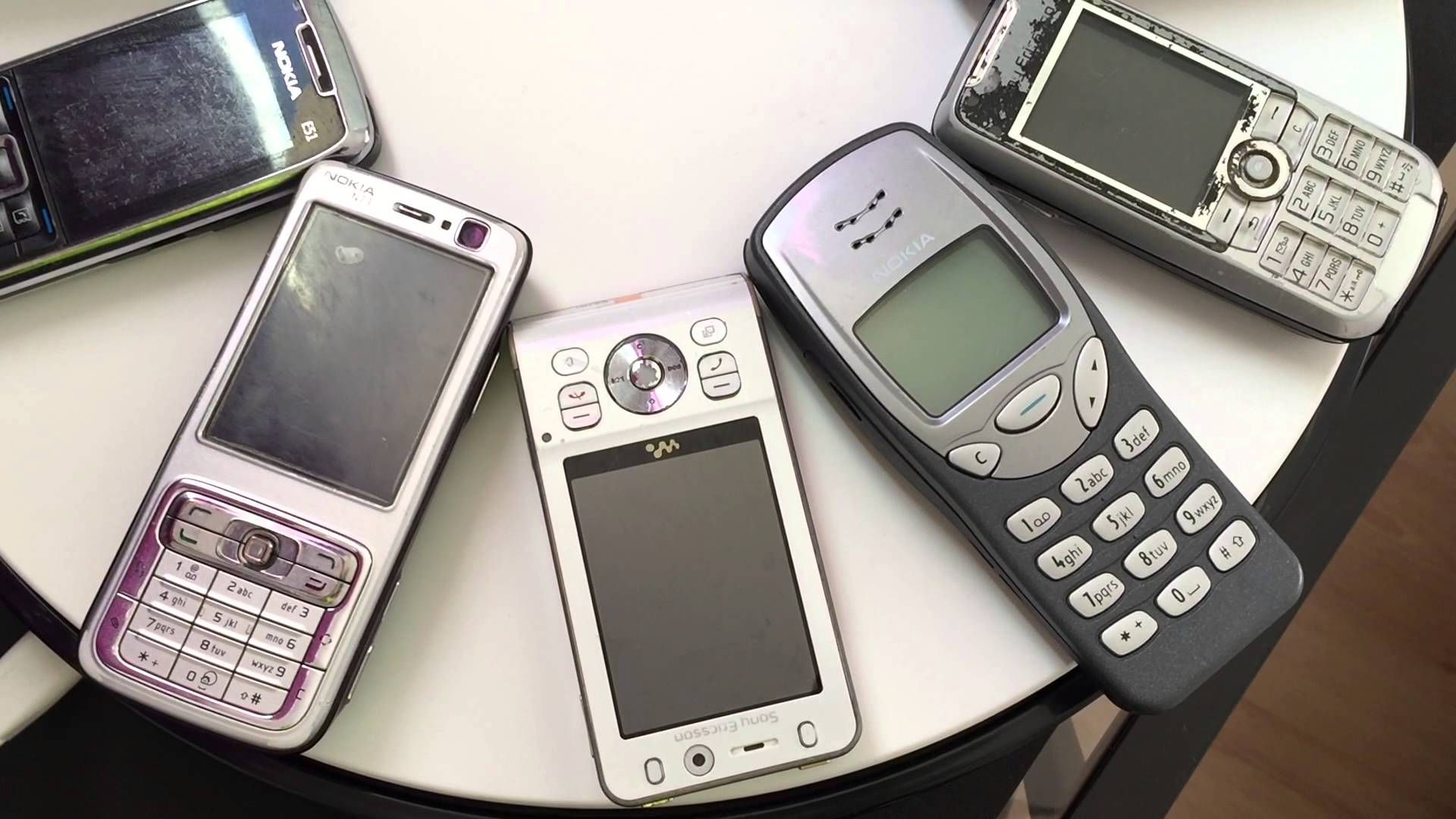 OLD MOBILE PHONES NOKIA SAMSUNG SONY ERICSSON