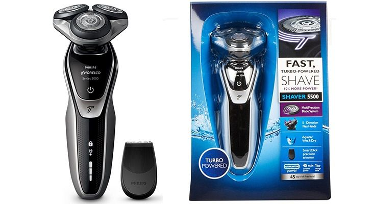 d14b0f66ac4 Philips norelco 5500 wet and dry shaver