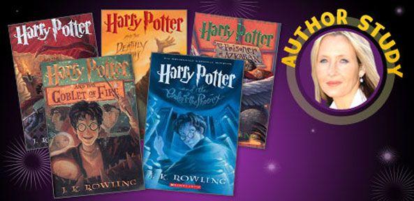 J  K  Rowling Author Study   Scholastic com   Language Arts