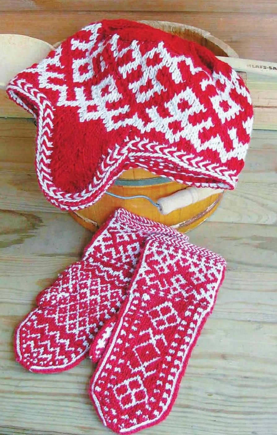 #ClippedOnIssuu from Knitting hats and mittens from around the world